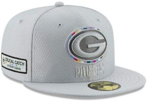 Youth Green Bay Packers NFL New Era Crucial Catch 9FIFTY Snapback Cap - Gray