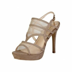 CLEARANCE SALE! Laura Biagiotti Style 419 – Micro / Taupe Colour Heels