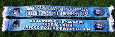 1860 Schal + DASS DU MICH DAMALS ZU... + NEU + 100 % Acryl + SECHZGE Fan Kurve