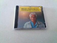 """LEONARD BERNSTEIN """"SIBELIUS SYMPHONIE No 1"""" CD 4 TRACKS COMO NUEVO WIENER"""