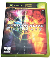 Dead or Alive Ultimate XBOX Original PAL *Complete*