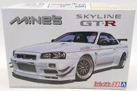Aoshima 1/24 Scale Model Car Kit 59869 - Nissan GT-R