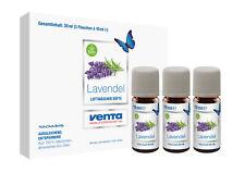Venta Bio-Duft Lavendel,100% natürliche ätherische Bio-Öle,3x10 ml