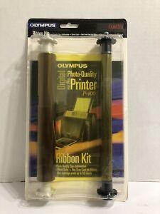 COMBO-Olympus P-400 Ribbon Kit (200655) Print 50 Sheets. Brand New