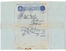 """A4622) WW2 MARINA, ANNULLO """"R. SOMMERGIBILE MAMELI"""" SU FRANCHIGIA VG 15/6/43."""