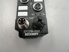 Beckhoff EP2318-0001 Ethercat 8 Channel Digital box