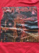 Iron Maiden- Iron Maiden Album 1980 Eddie The Head Graphic T-shirt Size M