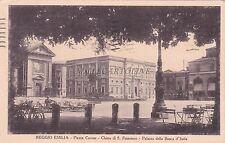 REGGIO EMILIA - Piazza Cavour - Chiesa di S.Francesco - Banca d'Italia 1933