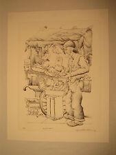 "Seymour Rosenthal "" Fruit Vendor "" Hand Signed & Numbered Litho #107/200"