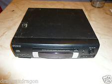 Sony cdp-ex10 Lettore CD con Connettore di sistema, problemi di meccanica, difetto