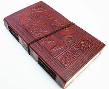 HANDMADE LEATHER TREE OF LIFE TRAVEL JOURNAL DIARY NOTEBOOK GREAT GIFT