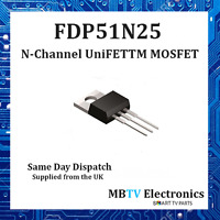 FDP51N25 – FAIRCHILD N-CHANNEL UniFETT MOSFET 250V, 51A - TO-220