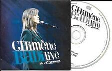 CD CARTONNE CARDSLEEVE COLLECTOR CHIMENE BADI LIVE OLYMPIA 6 TITRES