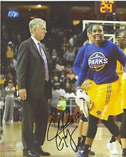 Chelsea Gray Signed 8 x 10 Photo Wnba Basketball Los Angeles Sparks Champs Duke