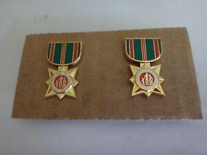 Collection De 2 Vietnam Guerre Arvn Militaire Miniature Médailles