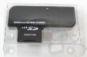 SD Adapter For SDHC/MiniSD/MMC/RS MMC USB Adapter Bell