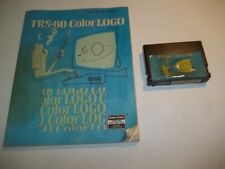 TRS-80 Color Logo Cartridge and Manual for TRS-80 Color Computer 26-272i