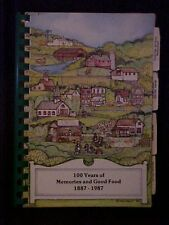 100 Years of Memories and Good Food 1887-1987 Cookbook, Westerville OH