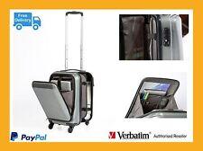 "Verbatim Corporate Bags Milan - 13"" Notebook Hard shell Laptop Roller #: 64514"
