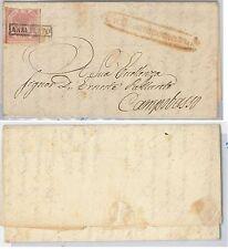 ANTICHI STATI -  NAPOLI : Sassone 5 su BUSTA da  Civitacampomarano 1858
