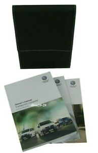 VW TRANSPORTER / CARAVELLE OWNERS HANDBOOK MANUALS WITH FOLDER EDITION 08.2018