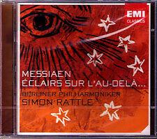 Simon RATTLE MESSIAEN Eclairs sur l'au-dela EMI CD 2004 Berliner Philharmoniker