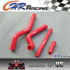 RED silicone radiator hose for Suzuki RM125 RM 125 2001-2008 02 03 04 05 06 07