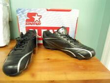 Mens Black Sz 6.5 Universal Starter Baseball Football - Rubber Cleats NEW shoes