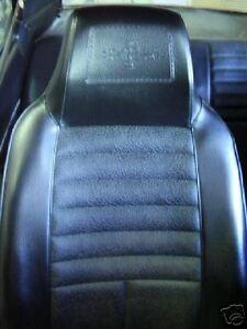 Mazda RX3 808 SEAT INTERIOR VINYL TRIM MATERIAL SEDAN WAGON COUPE BLACK