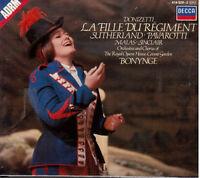 Donizetti: La fille DU Régiment / Bonynge, Sutherland, Pavarotti - CD Decca