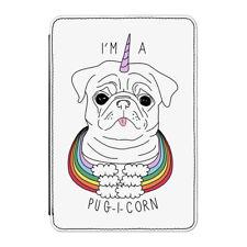 """I'm A Pugicorn Rainbow Case Cover for Kindle 6"""" E-reader - Funny Pug Unicorn Dog"""