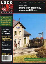 LOCO REVUE 567 DE 1994. COMMENT FAIRE UN CHASSE NEIGE DE A à Z
