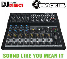 MACKIE MIX12FX Compact 12 Channel Effects Mixer Live DJ Band EQ Studio FREE P&P
