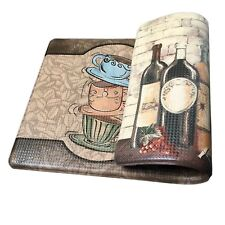 "Art3d Premium Reversible Memory Foam Kitchen Mat Anti-Fatigue Chef Mat, 18"" X"