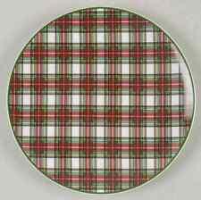 Nikko HAPPY HOLIDAYS Tartan Salad Plate 8527319