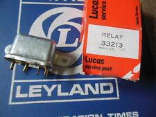 NOS Lucas Horn/Overdrive Relay Triumph MG Jag Aston Motorcycles 33213 D/C 11/77