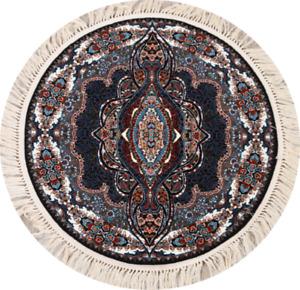 Transitional Floral Tebriz Turkish Oriental Area Rug Kitchen Carpet 4x4 Round
