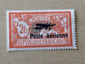 FRANCE 1927 *** POSTE AERIENNE *** N° 1 *** NEUF avec CHARNIERE  TTBE