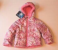 Infant Girl 12 Months Pink Blusher Animal Print ZeroXposur Winter Coat Jacket