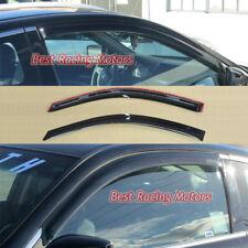 JDM Style Side Window Visors Fits 08-12 Honda Accord 2dr