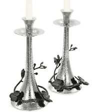 Michael Aram Black Orchid Set of 2 Candlestick Holders NEW