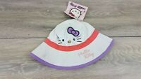 Baby Girls Licensed Hello Kitty SUNRIO Sun Hat Cap ONE SIZE 100% COTTON A45211