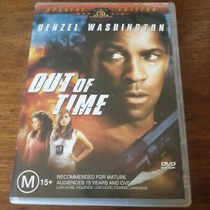 Out of Time DVD Special Edition Denzel R4 Like New! FREE POST