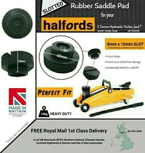 Slotted Rubber Pad for the Halfords 2 Tonne Hydraulic Trolley Jack