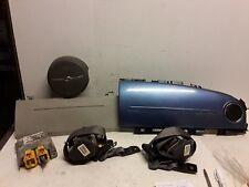 06 2006 Chrysler PT Cruiser airbag set wheel Dash knee belt module blue gray OEM