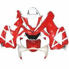 Fairing Bodywork Kit Fit Honda CBR900RR CBR929RR 2000-2001 White+Red ABS Plastic