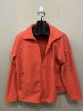 Columbia Women's Fast Trek II Full Zip Soft Fleece Jacket Pink Plus Size 1X