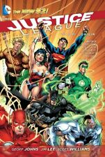 Justice League, Vol. 1: Origin (The New 52)-Jim Lee, Scott Williams