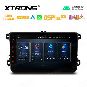 """8"""" Android 10.0 Car GPS Head Unit Stereo DSP Car Auto Play for VW GOLF MK5 MK6"""