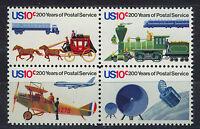Staaten Vereinigte/USA 1975 MNH SC.1572/1575 Postal Service 200th
